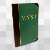Limited Run Games MYST realMYST A5 Journal Notebook - Book Diary Note Pa... - $49.99