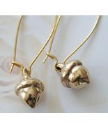 Acorn Dangle Earrings - $20.00