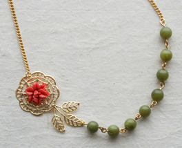 Flower Necklace - $38.00