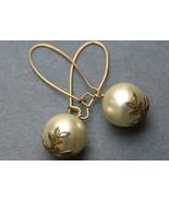 Big Pearl Drop Earrings,  Swarovski Glass Pearls - $18.00