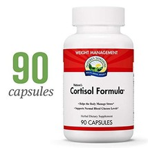 Nature's Sunshine Cortisol Formula, 90 Capsules | Adrenal Support Supplements fo