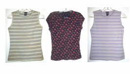 Gap Cotton Blend Stretch Tops Cap Sleeve & Sleeveless Sizes S-L - $22.49