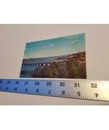 Passagassawakeag River Bridge Postcard Belfast Maine Shore Line Home Tre... - $9.49