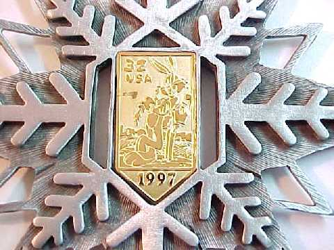 Looney Tunes Bugs Bunny Official USPS Stamp Ornament