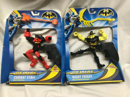 Batman Deluxe Combat Staff Batman, Night Fright Scarecrow Spin Trigger B... - $20.04