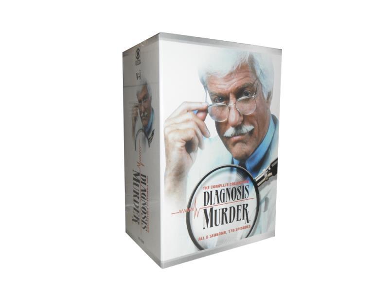 Diagnosis Murder Complete Series Seasons 1-8 DVD Box Set 32 Disc Free Shipping