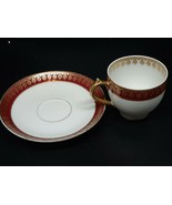 C. H. FIELD Limoges demitasse cup/saucer for MEMPHIS QUEENSWARE co. Near... - $22.00