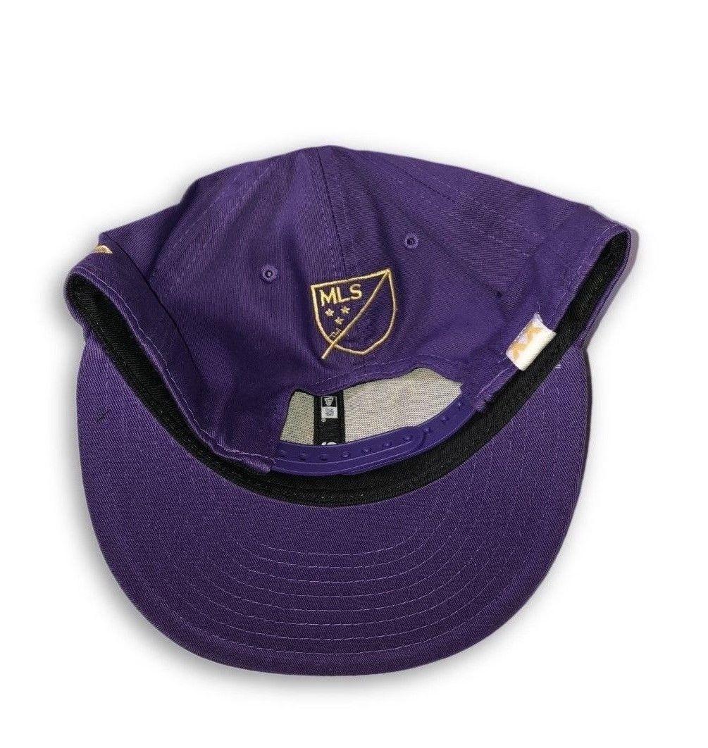 NWT New Orlando City SC New Era 9Fifty 20th Anniversary Snapback Purple Hat Cap