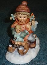 """Christmas Delivery"" Holiday Goebel Hummel Figurine #2014/I TMK7 Adorabl... - $300.69"