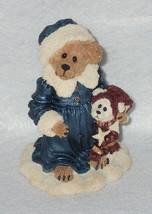 Boyd Bearstone Resin Bears Genevieve Berriman w/Brady Figurine #228327 1E - $8.56