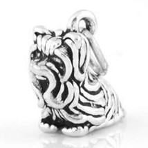 Sterling Silver Toy Yorkshire Terrier CHARM/PENDANT - $10.90