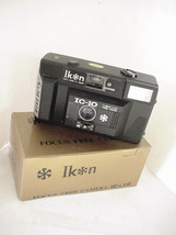 Ikon Fancy IC-10 35mm Camera with Built-in Flash - $9.89