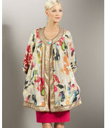 DIANE von FURSTENBERG HADID REVERSIBLE COAT  - US 4 - UK  8 - $531.54