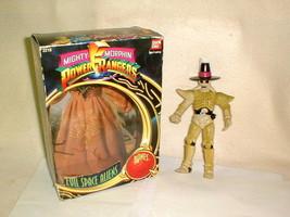 MIGHTY MORPHIN POWER RANGERS BONES ACTION FIGURE 1993 BANDAI W BOX 2210 - $24.00