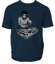 DJ Bruce Lee Worn by Tony Stark Avengers Movie Mens  T shirt  six colours - $11.93+