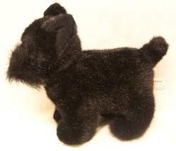 "Russ Shadow The Black Scottie Dog 9"" Plush Stuffed Animal - $19.80"