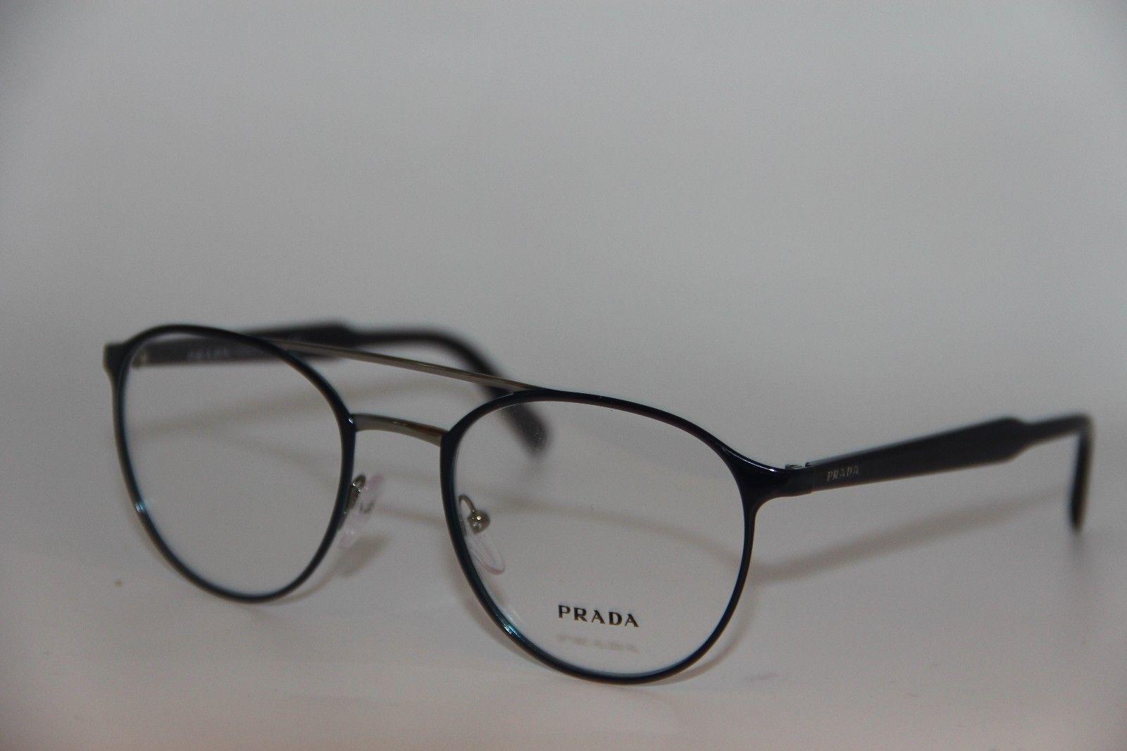 a17561c93054 New Prada Vpr 60T VAZ-1O1 Blue Eyeglasses and 50 similar items