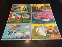 Vintage Looney Tunes Laminated Children's Kids Placemats From PEPSI Comp... - $21.00