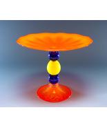 Blown Glass Orange Tazza - $395.00