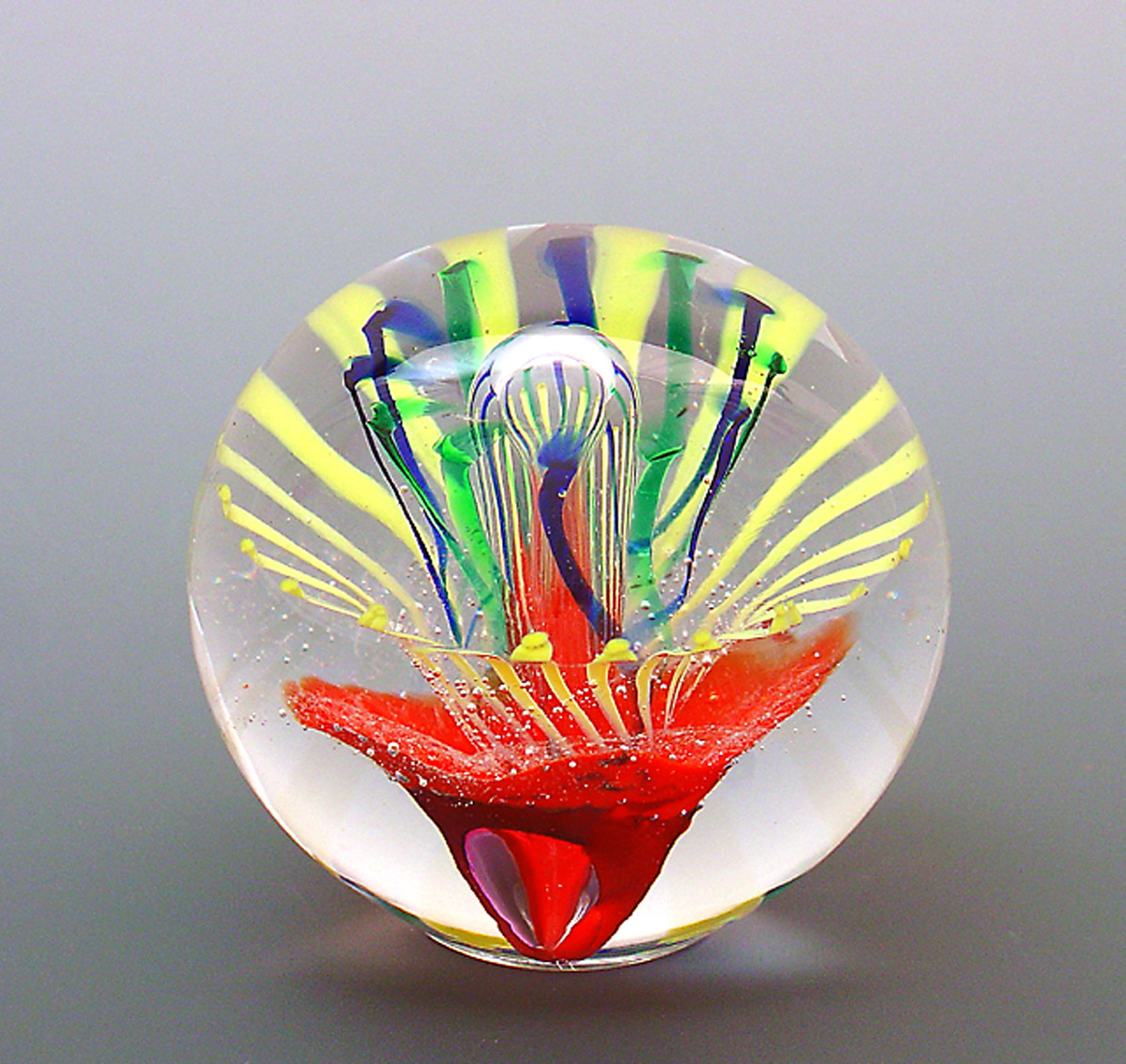 Hand Made Glass Paperweight - Galaxy 2403933 Roecey 3