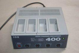 IDX i400 4 Channel Battery Charger/Discharger for NP, BP & Li-ion Batter... - $74.95