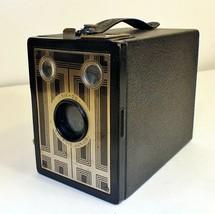 Vintage Kodak Six-20 Brownie Junior Film Box Camera, Good Condition, Works 1942 - $22.44
