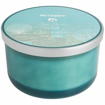 NWT PIER 1  SEA  AIR  3  WICK CANDLE - $34.64
