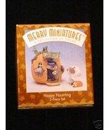 Hallmark Merry Miniatures Happy Haunting 2 Piece Set - $5.94