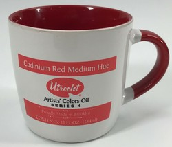 Utrecht Artists' Color Oil Series 4 Cadmium Red Medium Hue White Coffee ... - $29.69
