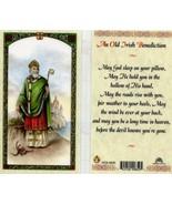 An Old Irish Benediction Laminated Prayer Card - Item EB219 - Catholic L... - $1.99