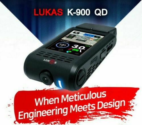 Lukas K-900 QD 2Ch QHD/FHD 3.5In 32Gb ADAS 3.0 GPS Sony Exmor R STARVIS / FedEx