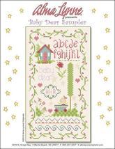 Baby Dear Sampler cross stitch chart Alma Lynne Originals - $7.00