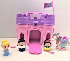 Fisher Price Little People Disney Princess Castle Pink & Purple Prince, Princess - $21.56