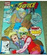 X-Force Casualty of War No. 7 Feb 1992 (Vol. 1)... - $1.95