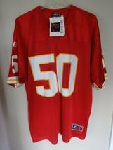 NWT Logo Athletic Kansas City Chiefs Anthony Davis # 50 Jersey Men L Aut... - $106.91