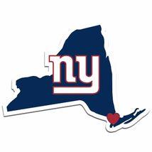 NFL New York NY Giants Home State Auto Car Window Vinyl Decal Sticker - $4.95