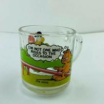 Mcdonalds Garfield Vintage Coffee Mug 1978 Rare Shot Glass Coffee Mug Cu... - $5.20
