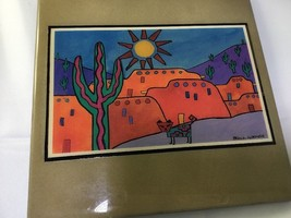 Breck Gorman painting on tile - $18.00