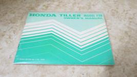 OEM Factory Honda F28 Owners Manual L-279 - $14.01