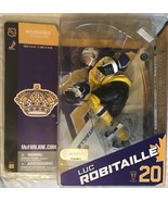 "NHL - Los Angels Kings ""Luc Robitaille #20"" Action Figure - Blue & Yello... - $115.99"