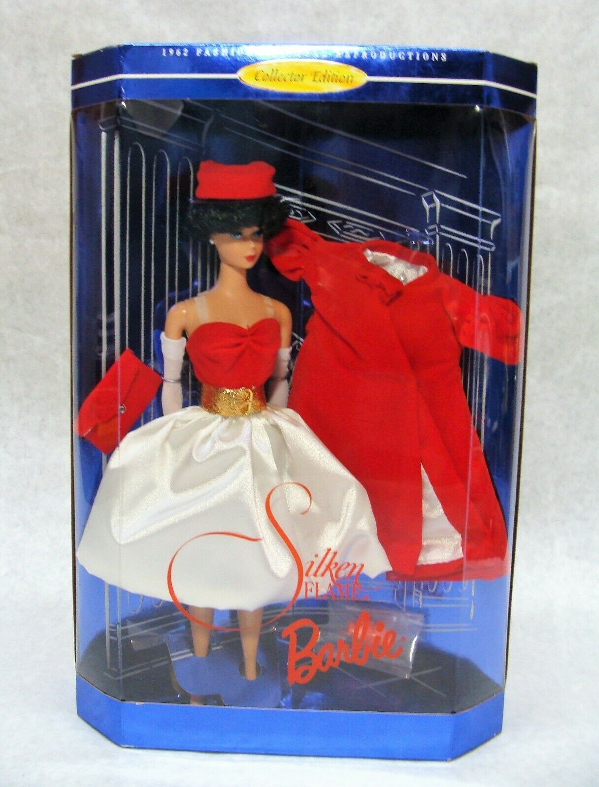 Primary image for 1997 MATTEL SILKEN FLAME BARBIE DOLL COLLECTOR EDITION NEW!!