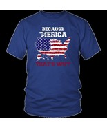 Merica Fourth Of July Veteran Shirt Rooster The Ranch Tshirt Patriotic S... - $22.99