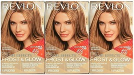 (3 Boxes) Revlon Color Effects Frost & Glow Honey All In One Easy Highli... - $29.69