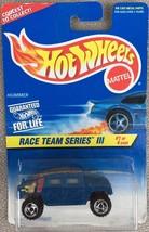 Hot Wheels Hummer Race Team Series III Blue - MIP - $1.95