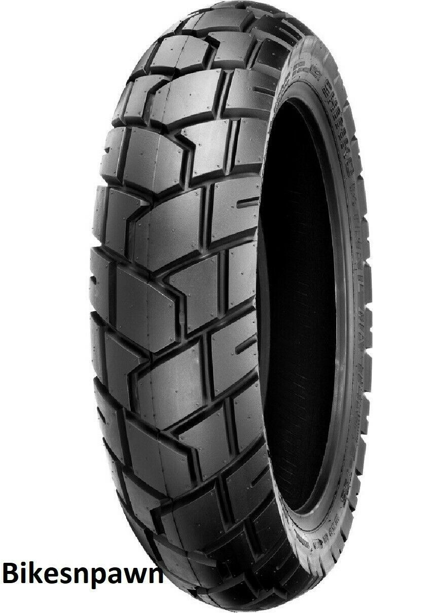 New 120/80-18 TT Shinko 705 Series Dual Sport Front or Rear Motorcycle Tire 62H