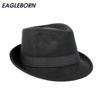 Hats Jazz Caps Flat Top Hat Gorras Wide Brim Men Fedora Casquette Brief ... - $18.14