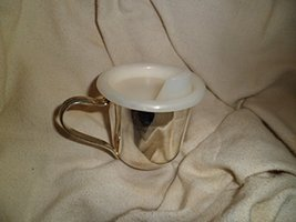 Ed's Variety Store Vintage Collectible Stainless Steel Baby Cup With Pla... - $24.75