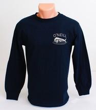 O'Neill Dark Navy Blue Long Sleeve Tee T Shirt Men's NWT - $20.24