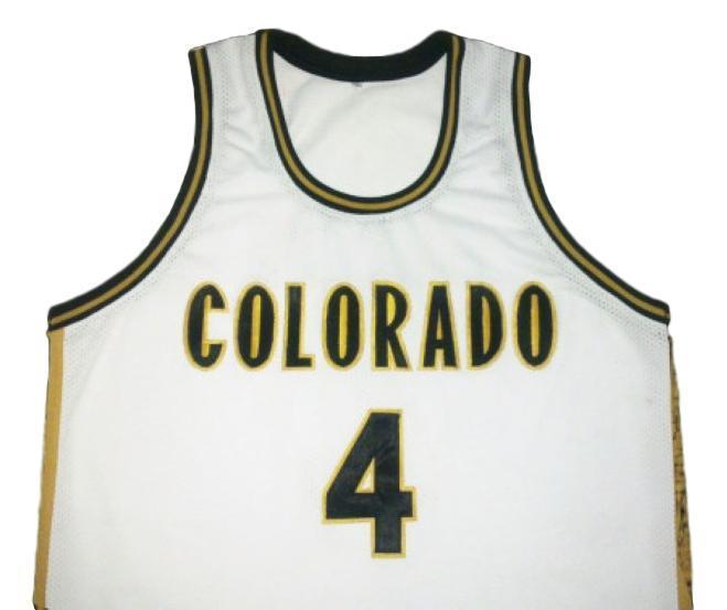 Chauncey billups college basketball jersey white   1