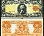 Reproduction1905  $20 GOLD CERTIFICATE US Banknote, Large size, Crazy colors - ₹659.77 INR
